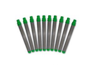 Tamis de crosse vert, jeu de 10, 30 mailles/0,56 mm MW, grossier