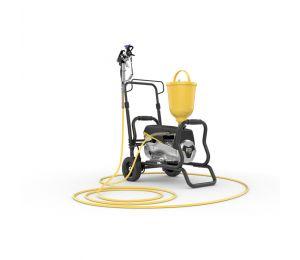 SuperFinish 23 Plus Airless lak Spraypack op wagen
