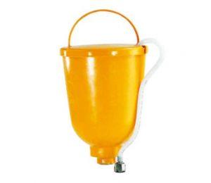 Bovenbeker 5 liter, M36x2 t.b.v. o.a. Superfinish