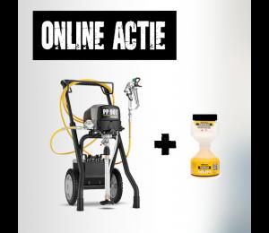 WAGNER PowerPainter 90 Extra Spraypack met gratis tipclean