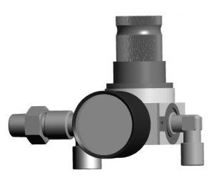 AirCoat regelaarset voor pneumatische plunjerpompen
